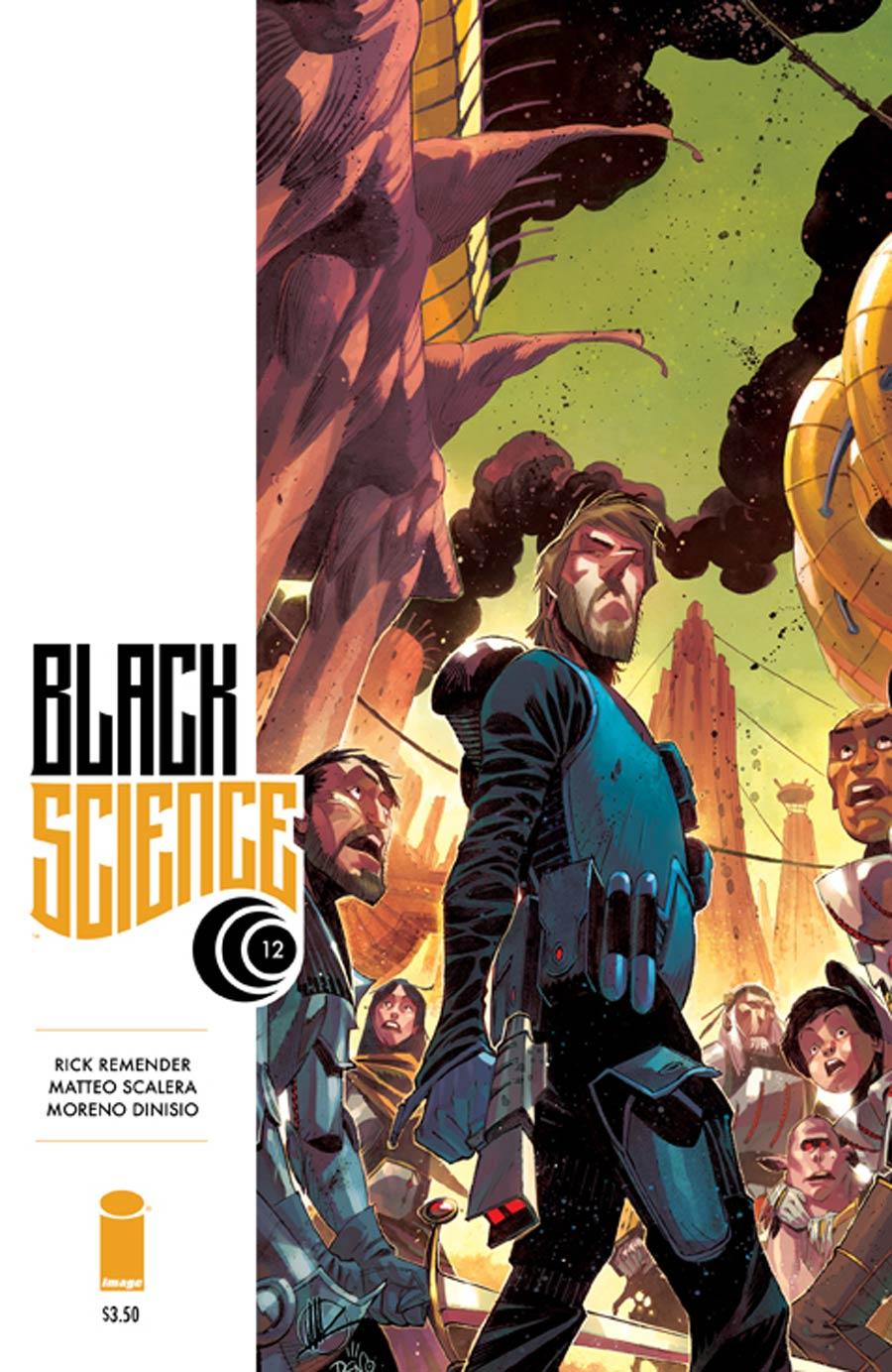 Black Science #12 Cover A Matteo Scalera & Moreno Dinisio