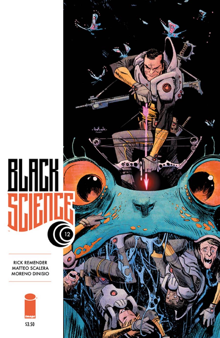 Black Science #12 Cover B Sean Gordon Murphy