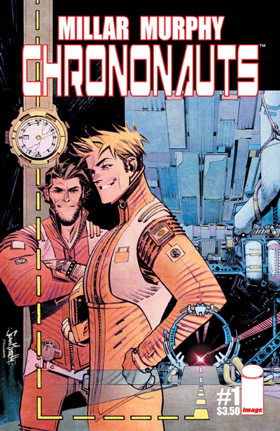 Chrononauts #1 Cover A 1st Ptg Sean Gordon Murphy & Matt Hollingsworth