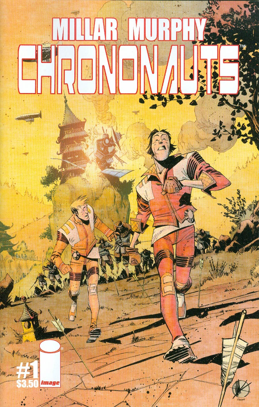 Chrononauts #1 Cover B Matteo Scalera