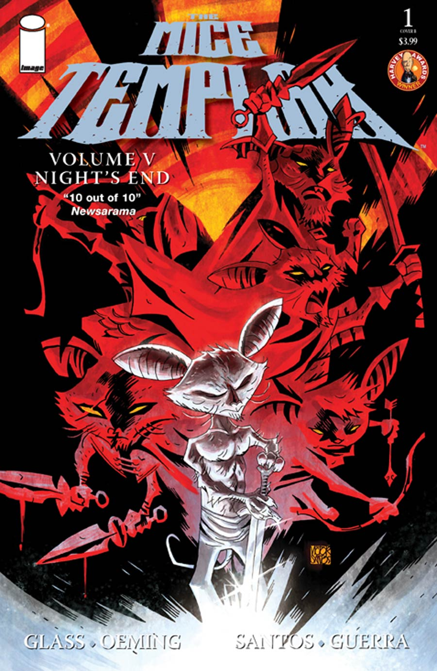 Mice Templar Vol 5 Nights End #1 Cover B Victor Santos & Chandra Free