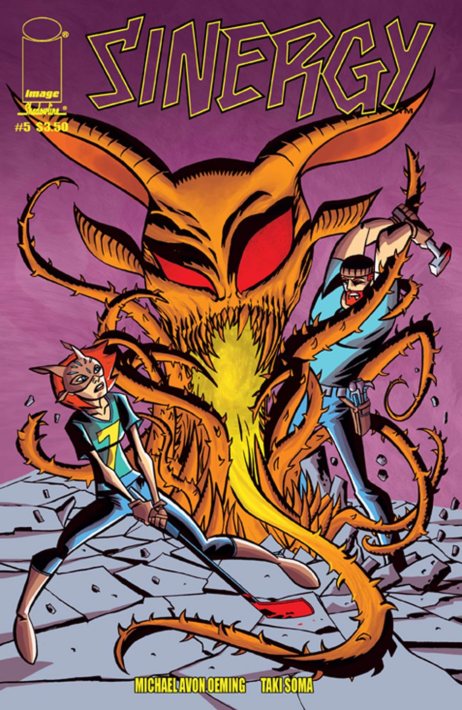 Sinergy #5 Cover A Michael Avon Oeming