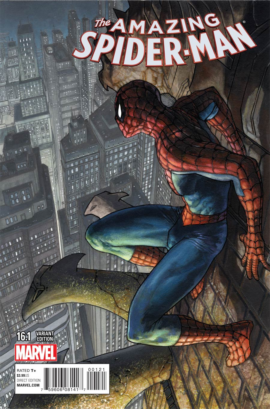 Amazing Spider-Man Vol 3 #16.1 Cover B Variant Simone Bianchi Cover