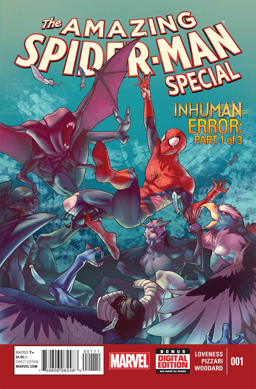 Amazing Spider-Man Vol 3 Special #1 Cover A Regular Jamal Campbell Cover (Inhuman Error Part 1)