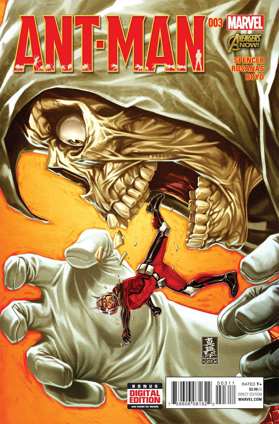 Ant-Man #3 Cover A Regular Mark Brooks Cover
