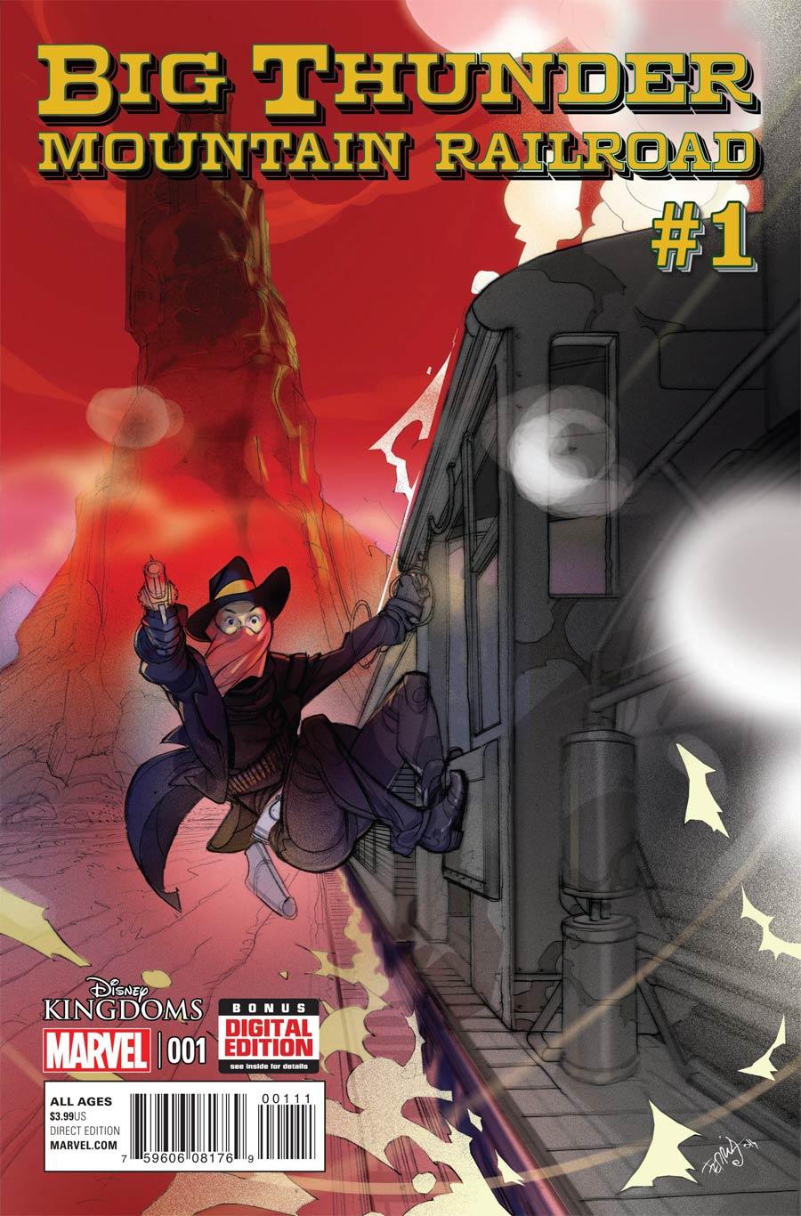 Disney Kingdoms Big Thunder Mountain Railroad #1 Cover A Regular Pasqual Ferry Cover