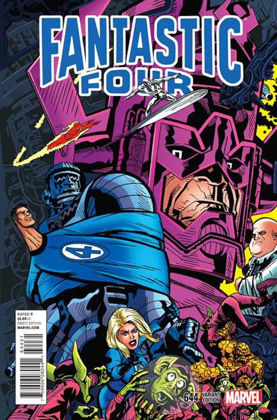Fantastic Four Vol 5 #644 Cover B Variant Michael Golden Connecting Cover