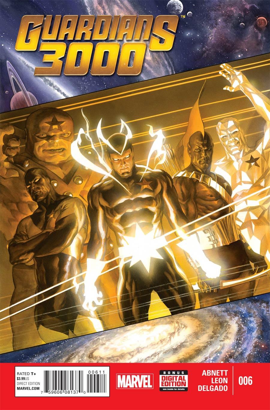 Guardians 3000 #6 Cover A Regular Alex Ross Cover