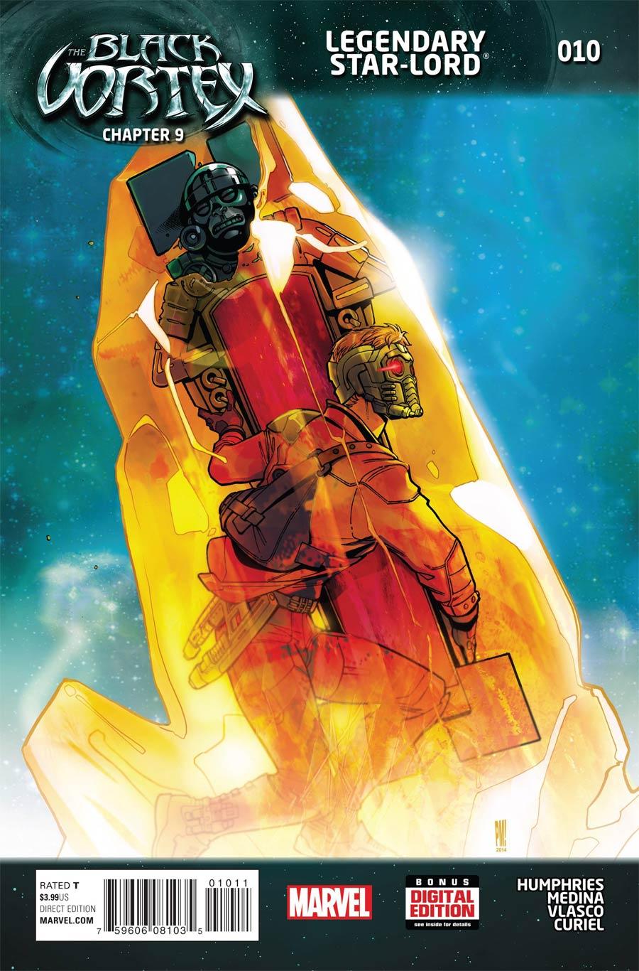 Legendary Star-Lord #10 Cover A Regular Paco Medina Cover (Black Vortex Part 9)