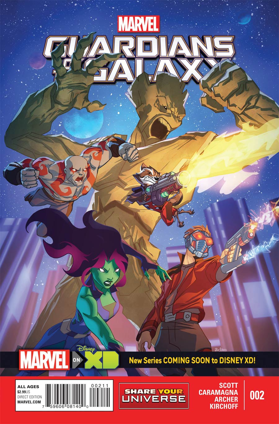 Marvel Universe Guardians Of The Galaxy #2