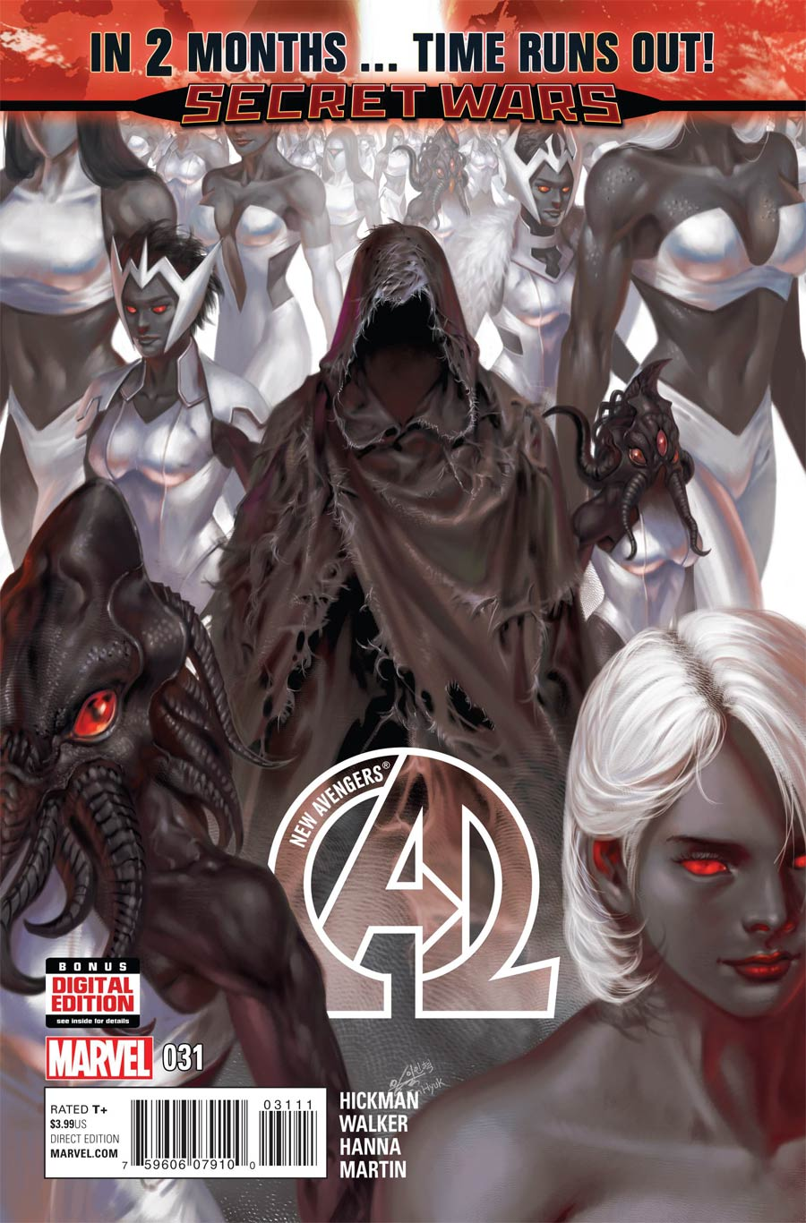 New Avengers Vol 3 #31 Cover A Regular In-Hyuk Lee Cover (Time Runs Out Tie-In)