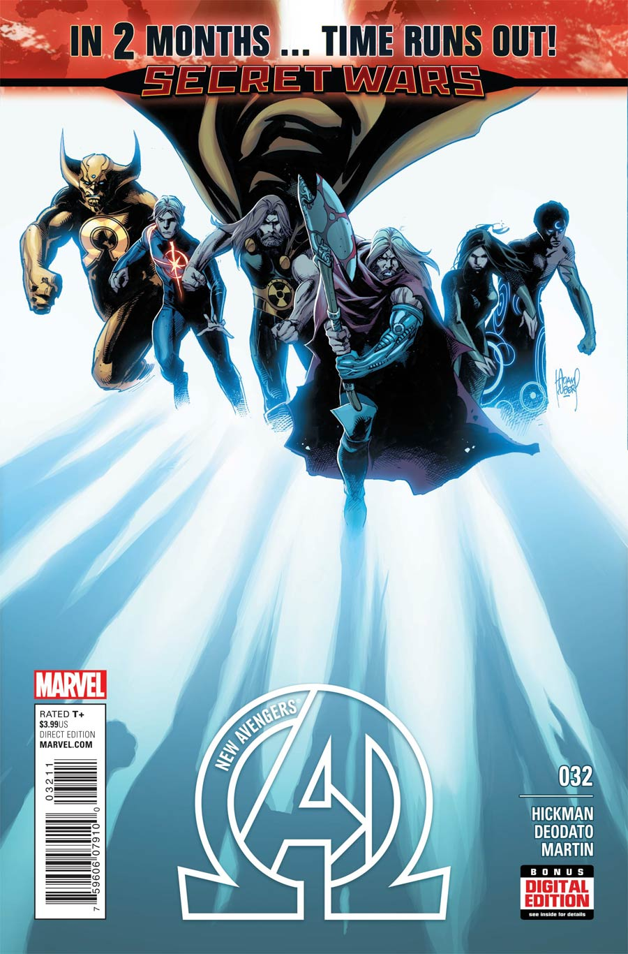 New Avengers Vol 3 #32 (Time Runs Out Tie-In)