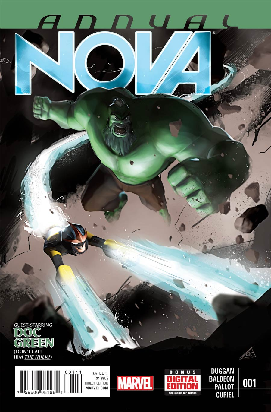 Nova Vol 5 Annual #1 Cover A Regular Orphans Cheeps Cover