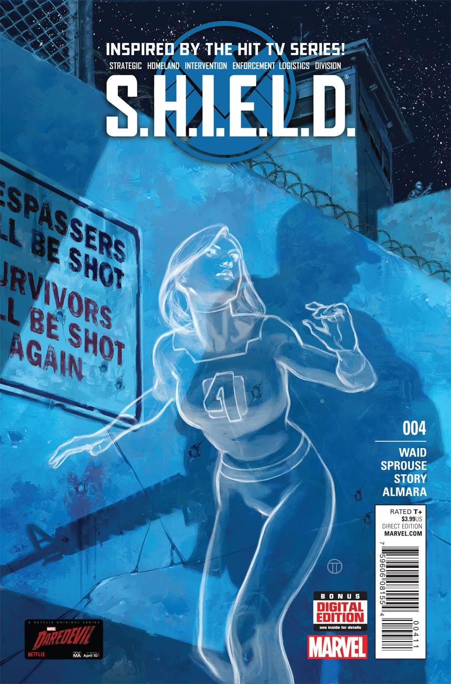 S.H.I.E.L.D. Vol 4 #4 Cover A Regular Julian Totino Tedesco Cover
