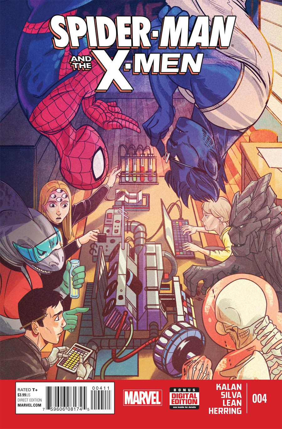Spider-Man And The X-Men #4