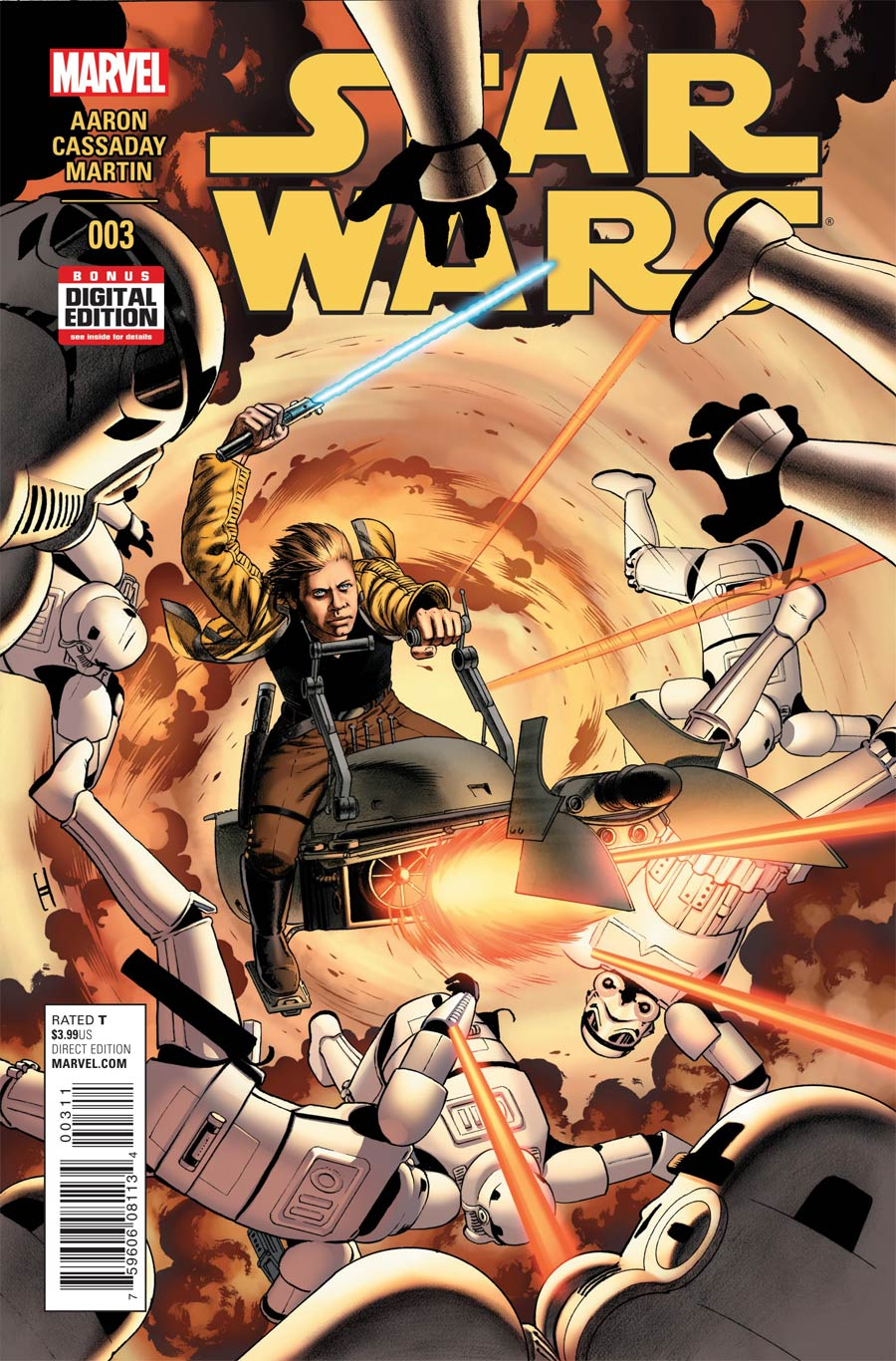 Star Wars Vol 4 #3 Cover A 1st Ptg Regular John Cassaday Cover