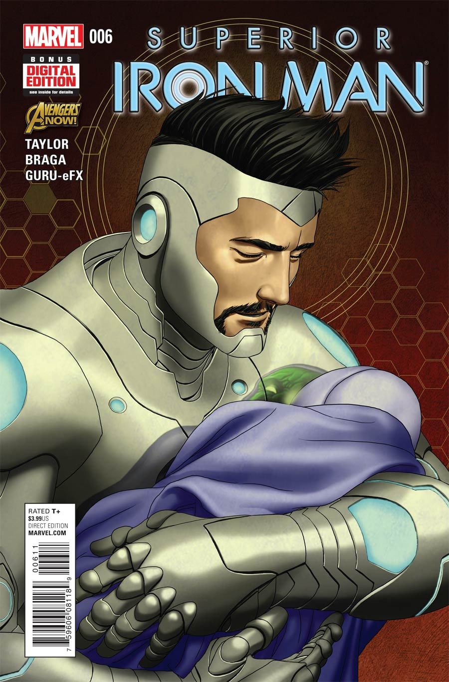 Superior Iron Man #6 Cover A Regular Mike Choi Cover