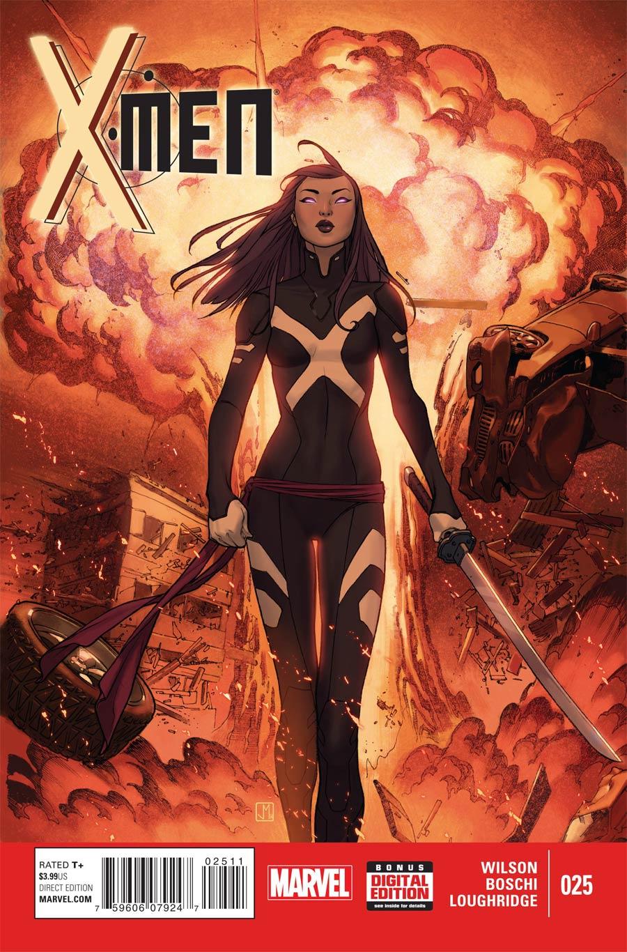 X-Men Vol 4 #25 Cover A Regular Jorge Molina Cover