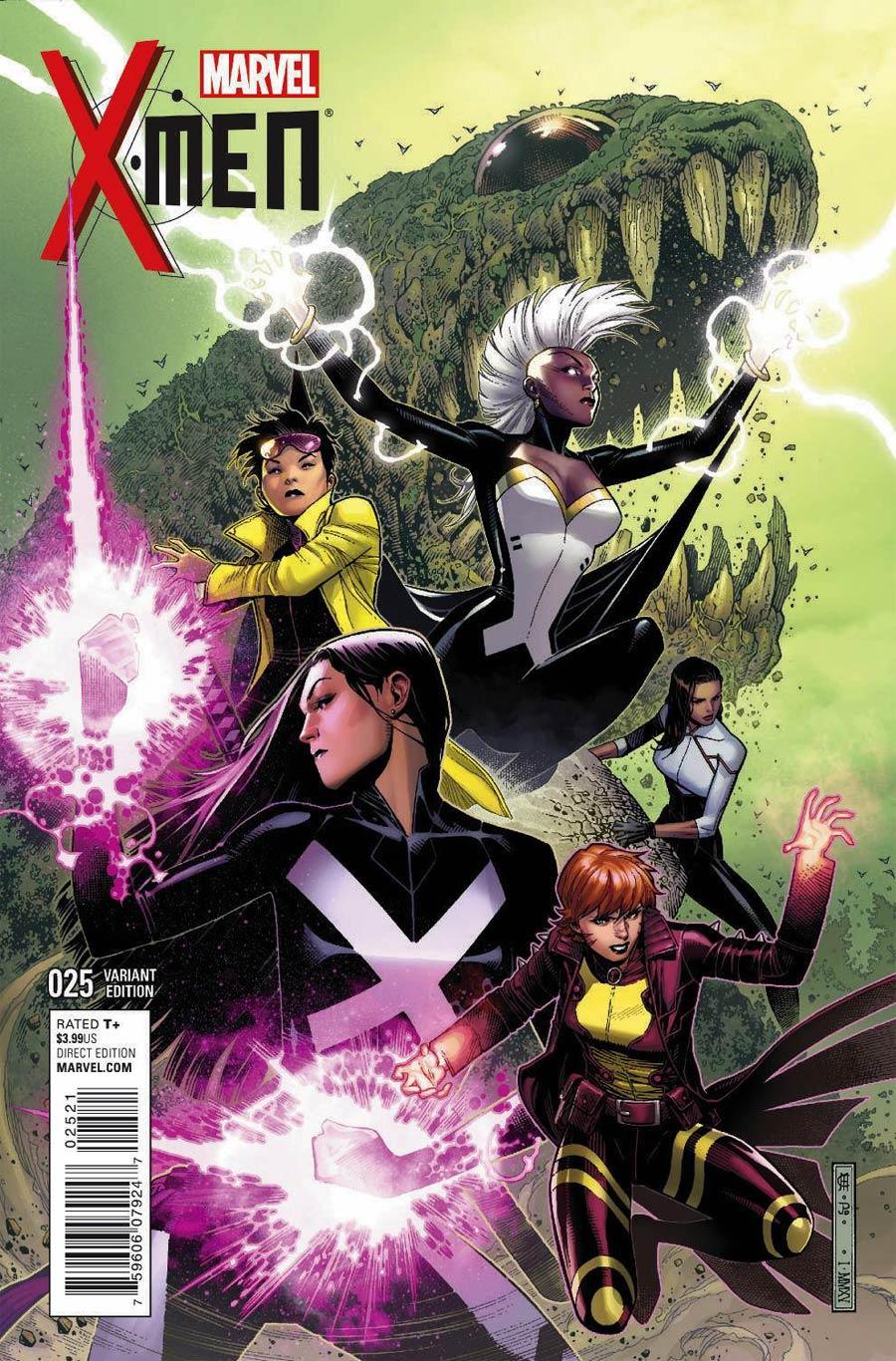 X-Men Vol 4 #25 Cover B Variant Jim Cheung Cover