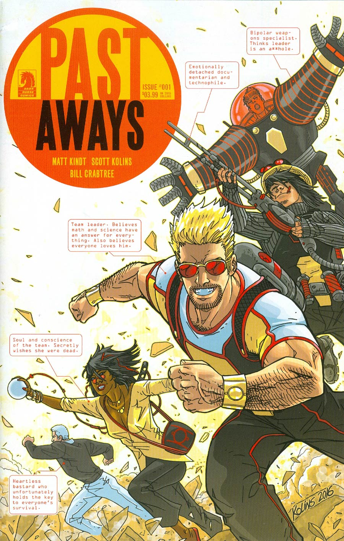 Pastaways #1 Cover A Regular Scott Kolins Cover