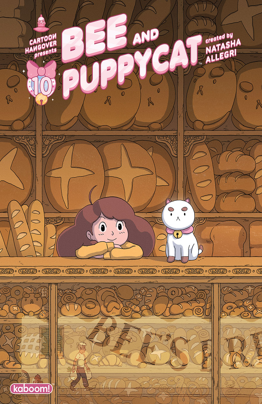 Bee And Puppycat #10 Cover B Variant Becky Dreistadt Subscription Cover