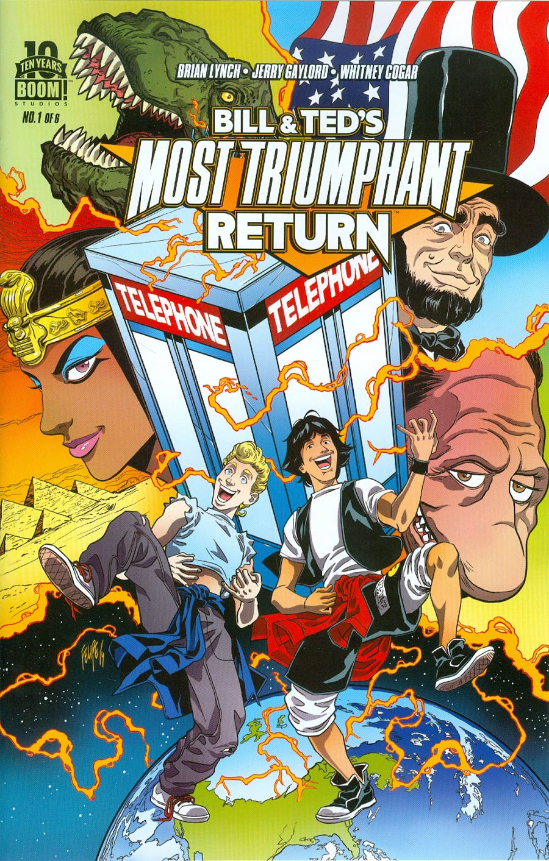 Bill & Teds Most Triumphant Return #1 Cover A Regular Felipe Smith Cover