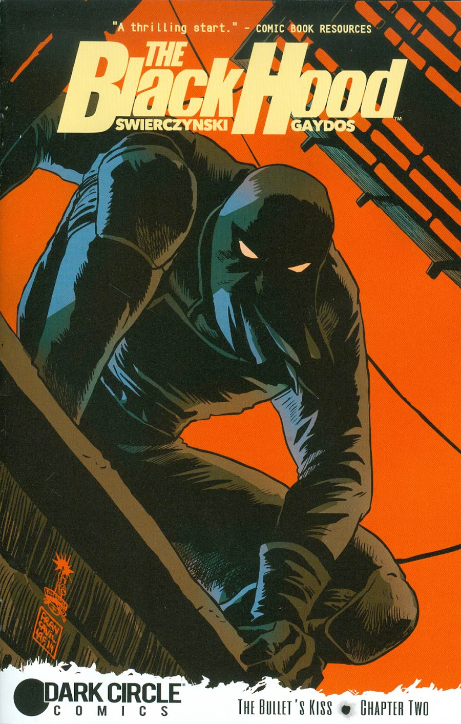 Black Hood Vol 3 #2 Cover A Regular Francesco Francavilla Cover