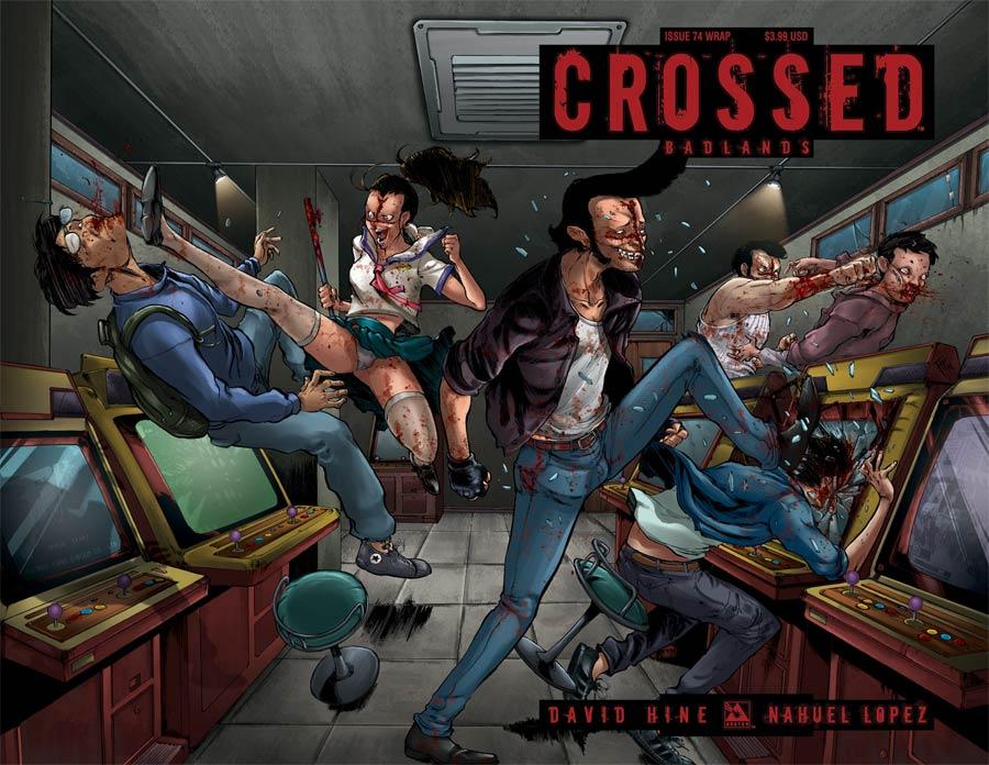 Crossed Badlands #74 Cover B Wraparound Cover