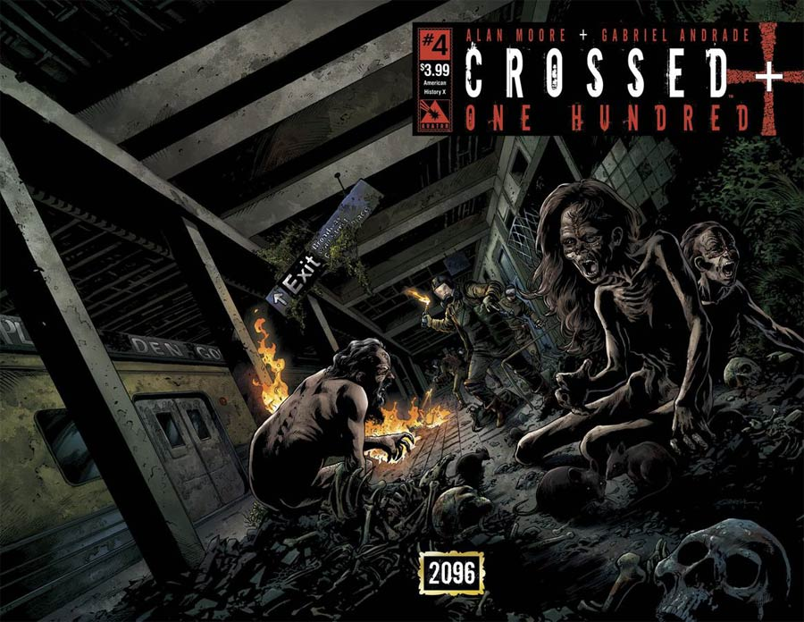 Crossed Plus 100 #4 Cover B American History X Wraparound Cover
