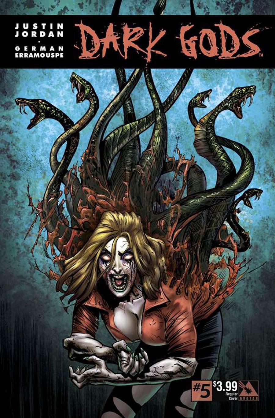 Dark Gods #5 Cover A Regular Cover
