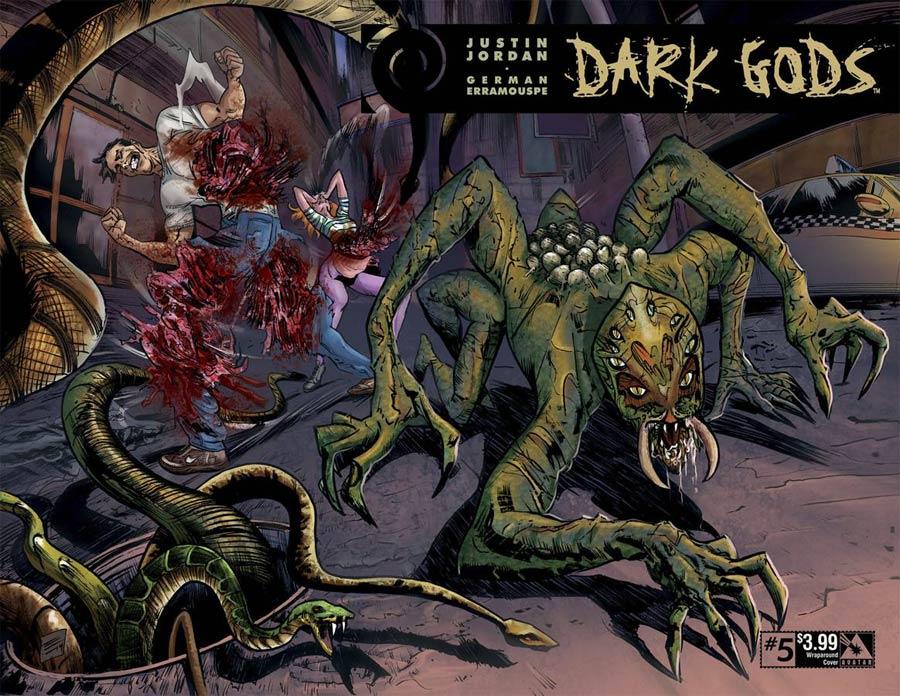 Dark Gods #5 Cover B Wraparound Cover