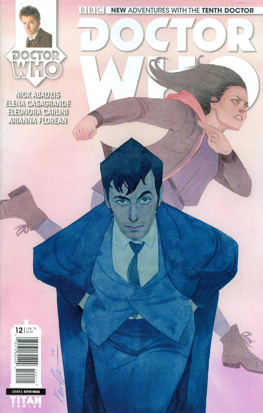 Doctor Who 10th Doctor #12 Cover A Regular Kevin Wada Cover