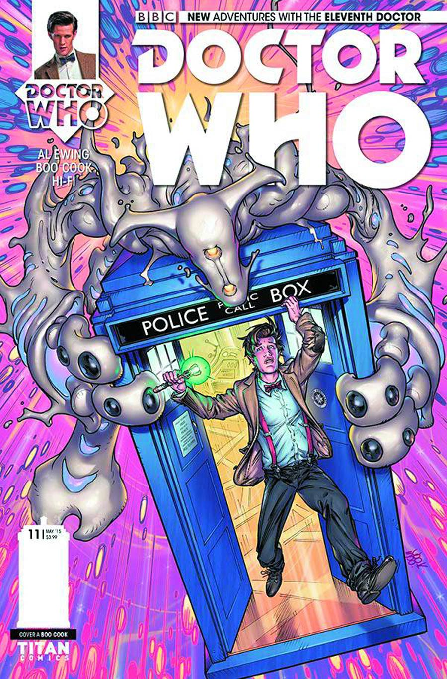 Doctor Who 11th Doctor #11 Cover A Regular Boo Cook Cover