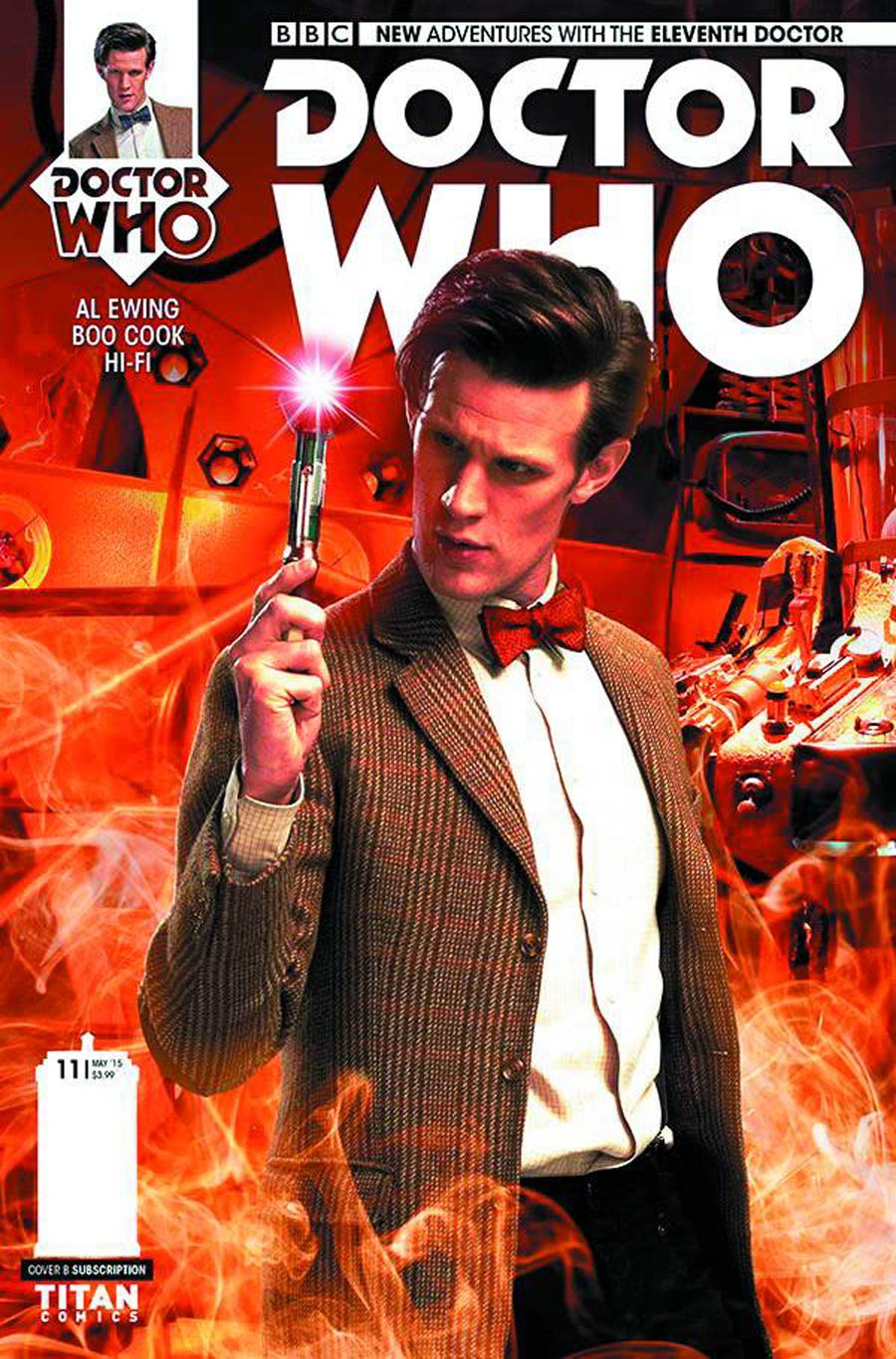 Doctor Who 11th Doctor #11 Cover B Variant Photo Subscription Cover