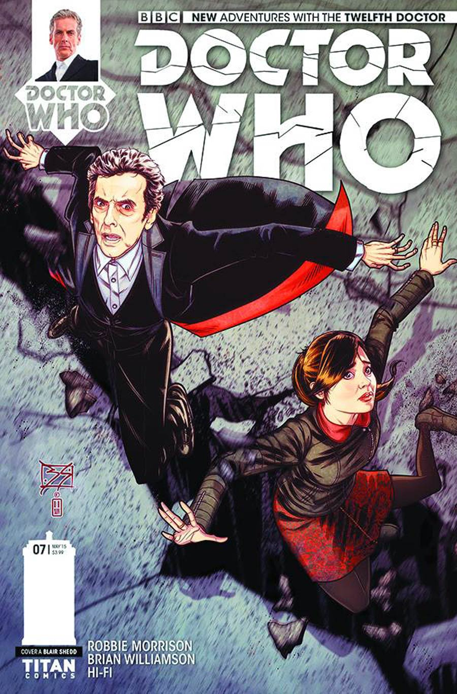 Doctor Who 12th Doctor #7 Cover A Regular Blair Shedd Cover