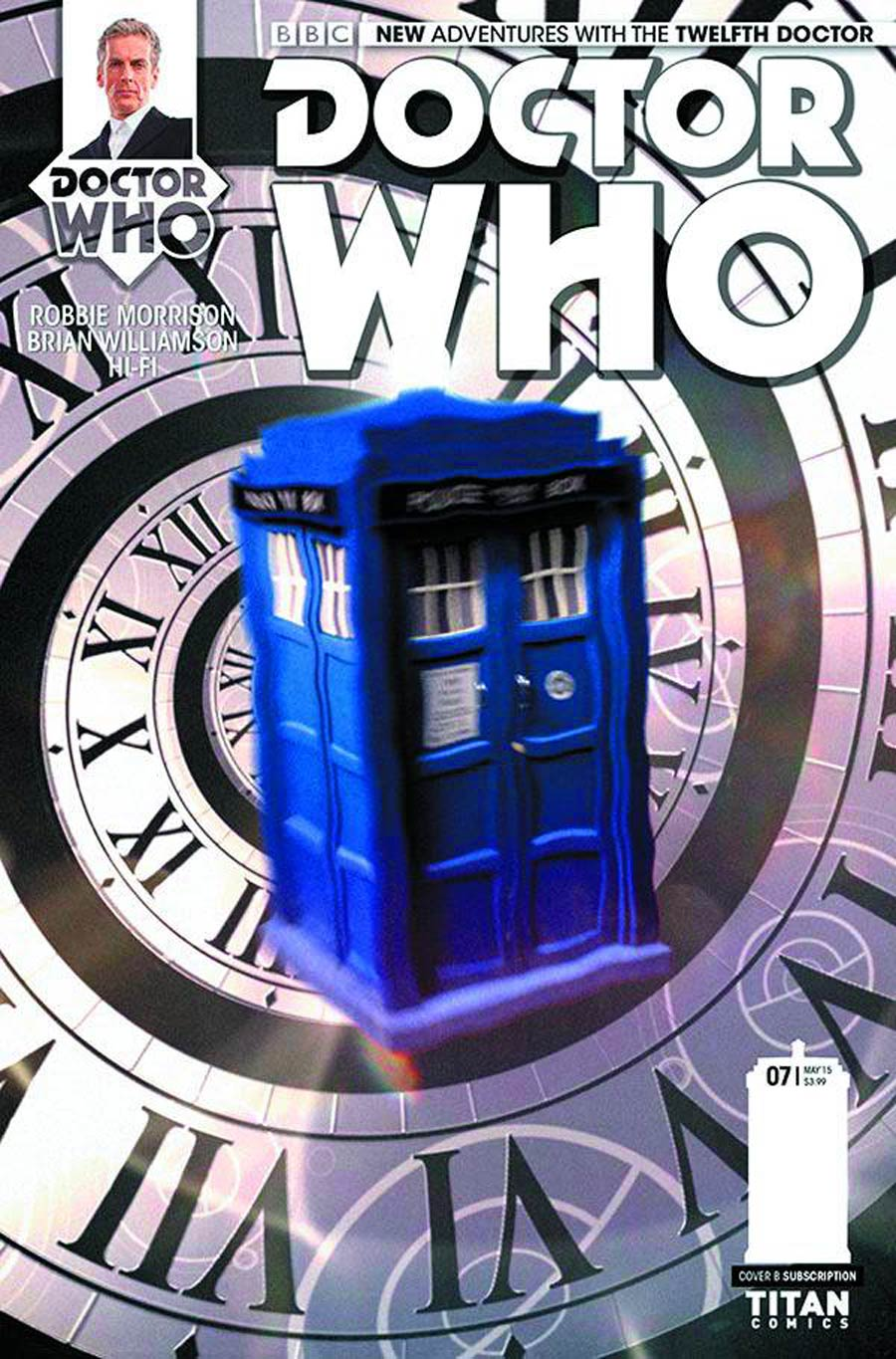 Doctor Who 12th Doctor #7 Cover B Variant Photo Subscription Cover