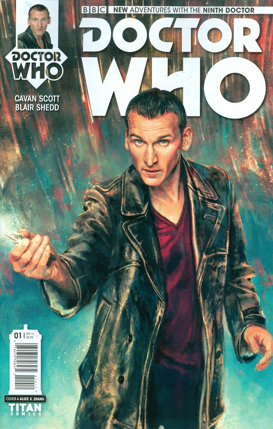 Doctor Who 9th Doctor #1 Cover A Regular Alice X Zhang Cover