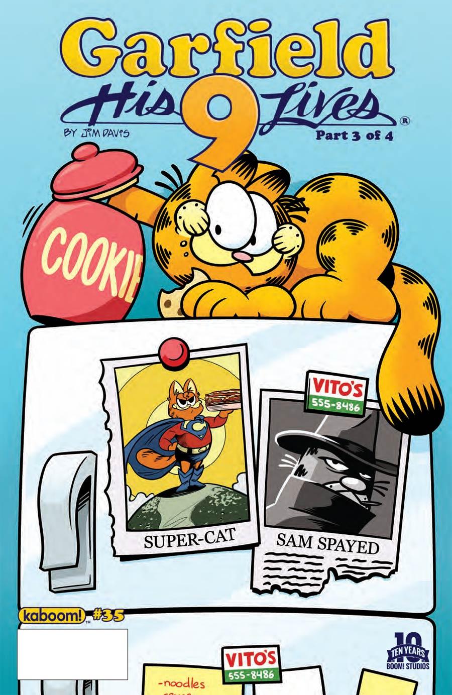 Garfield #35 Cover A Regular Andy Hirsch Cover