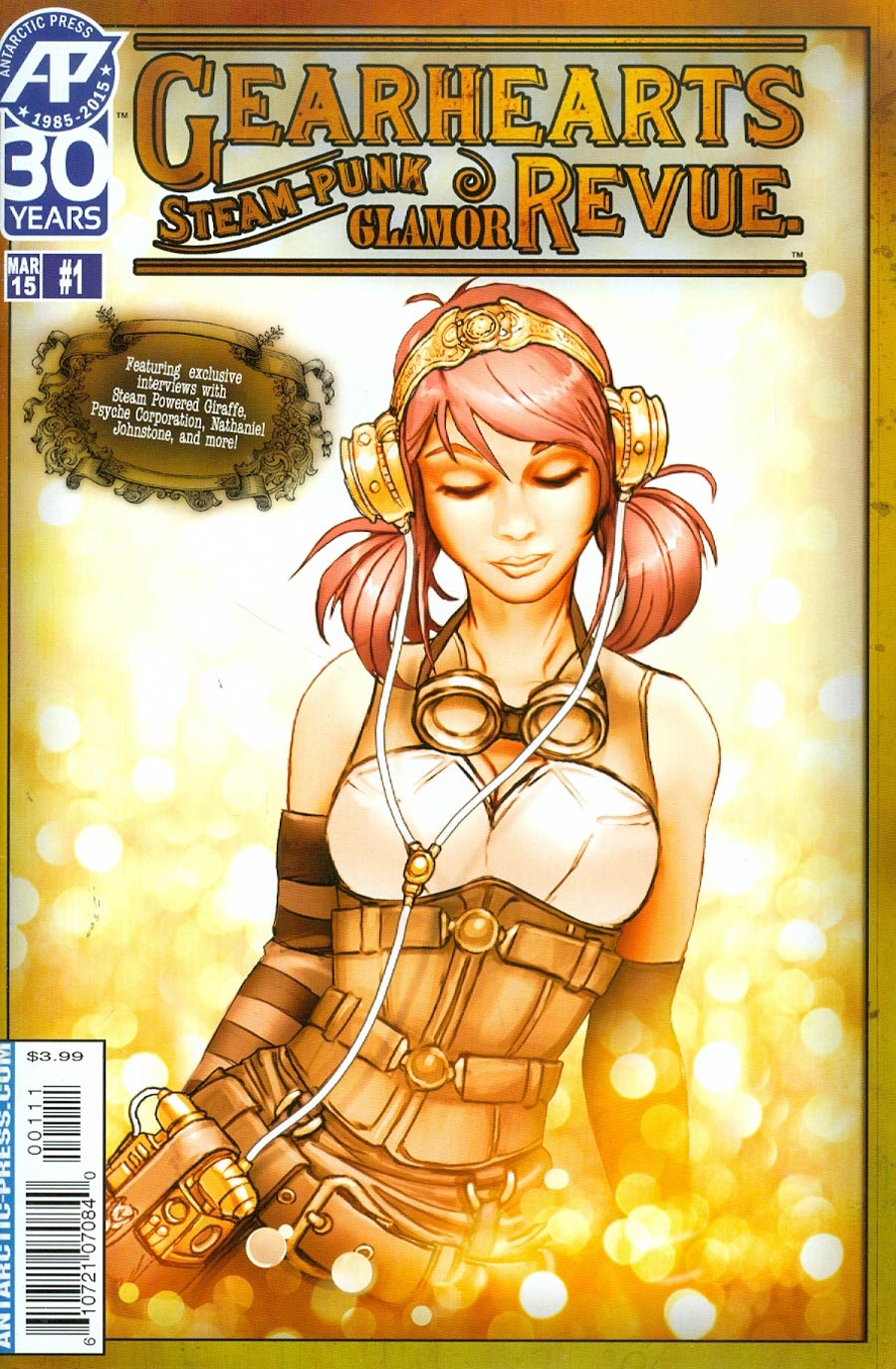 Gearhearts Steampunk Glamor Review Musical Special One Shot