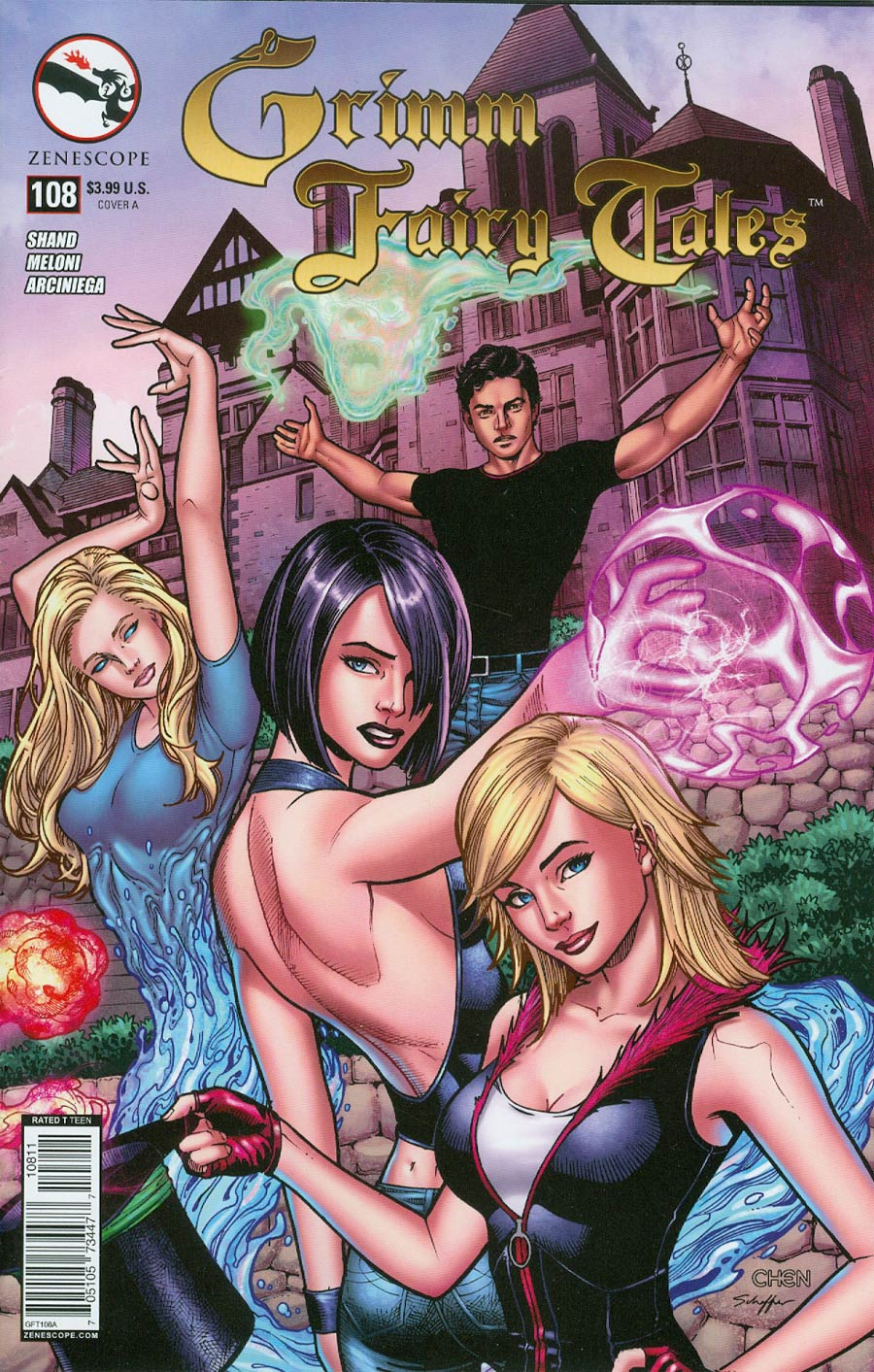 Grimm Fairy Tales #108 Cover A Regular Sean Chen Cover