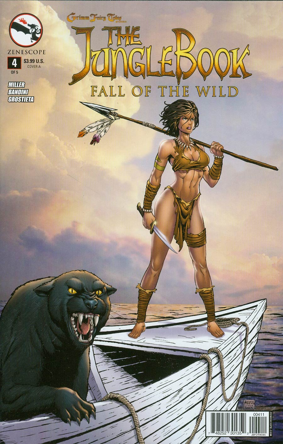 Grimm Fairy Tales Presents Jungle Book Fall Of The Wild #4 Cover A Alfredo Reyes
