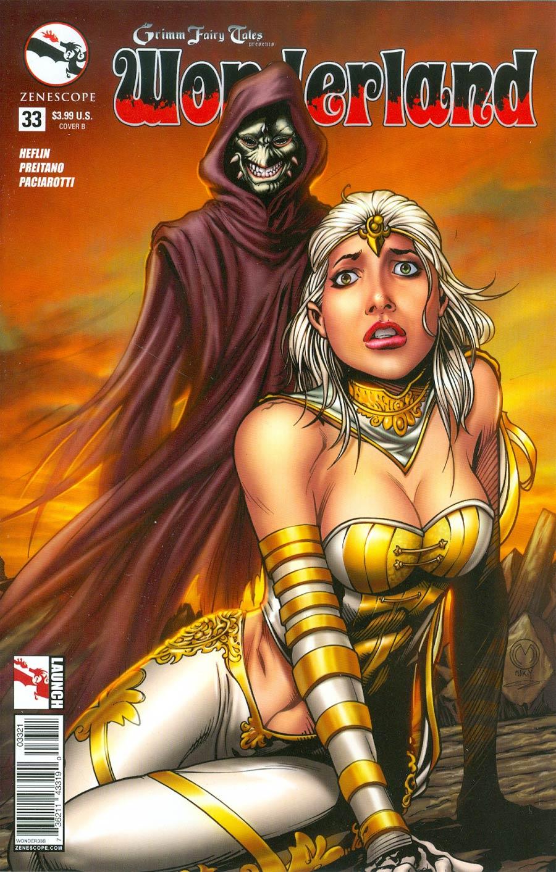 Grimm Fairy Tales Presents Wonderland Vol 2 #33 Cover B Marat Mychaels