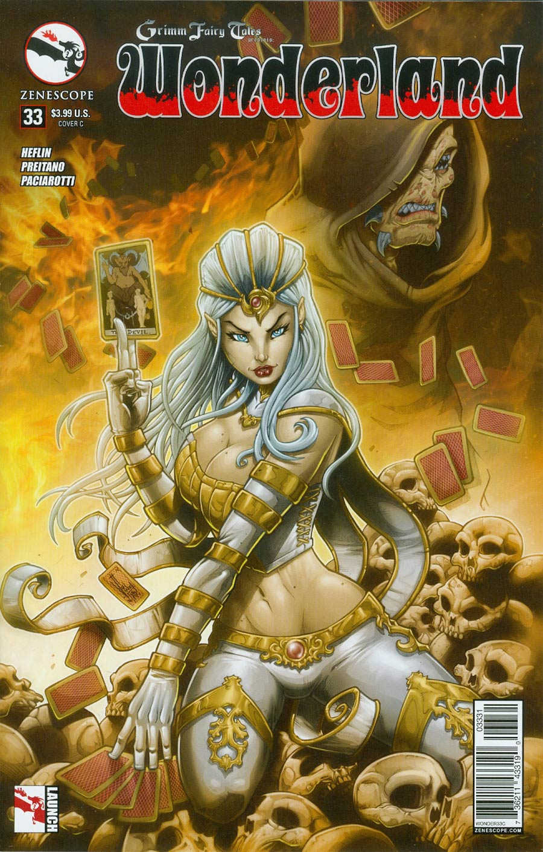 Grimm Fairy Tales Presents Wonderland Vol 2 #33 Cover C Vinz El Tabanas