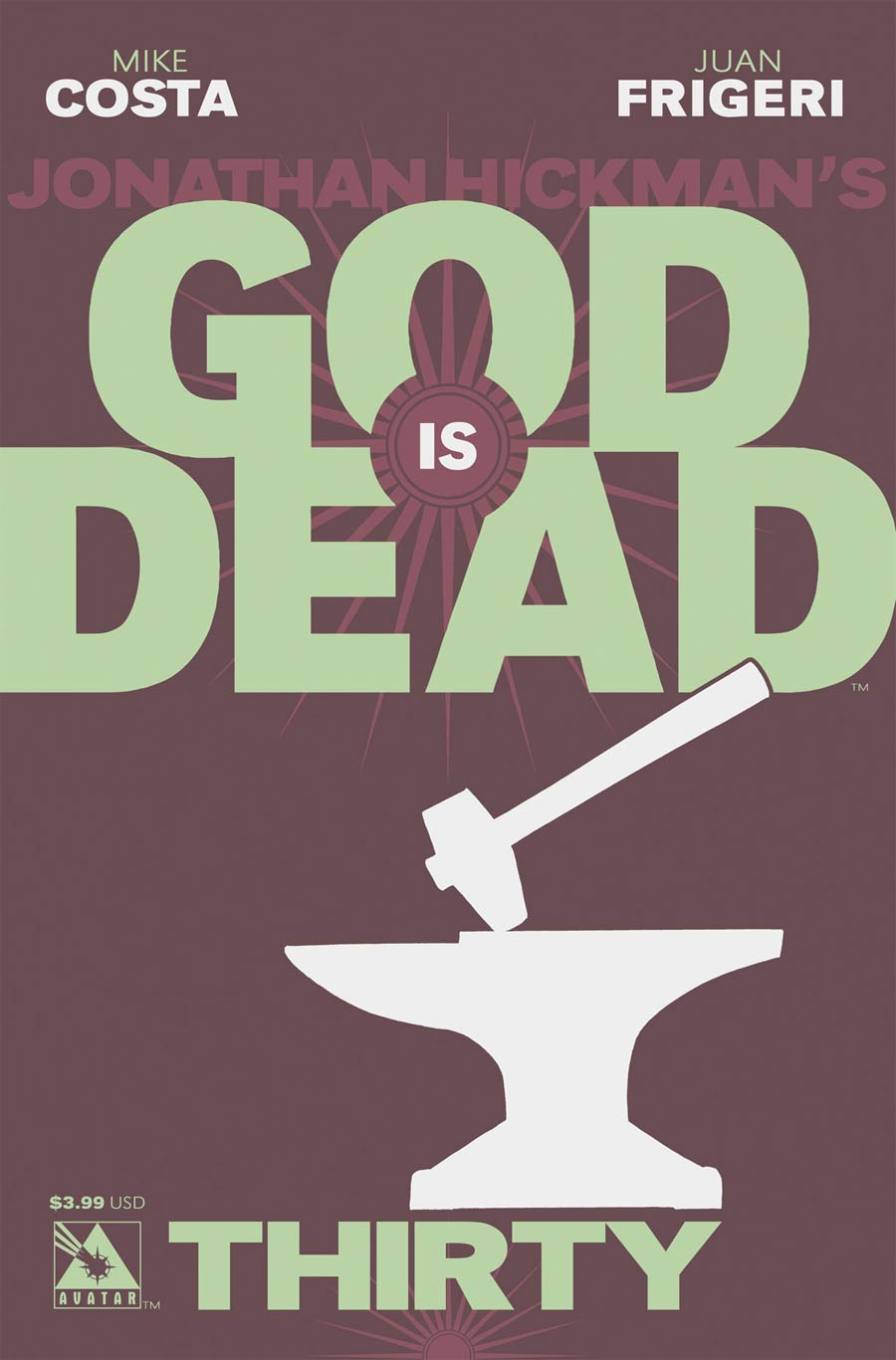 God Is Dead #30 Cover A Regular Cover