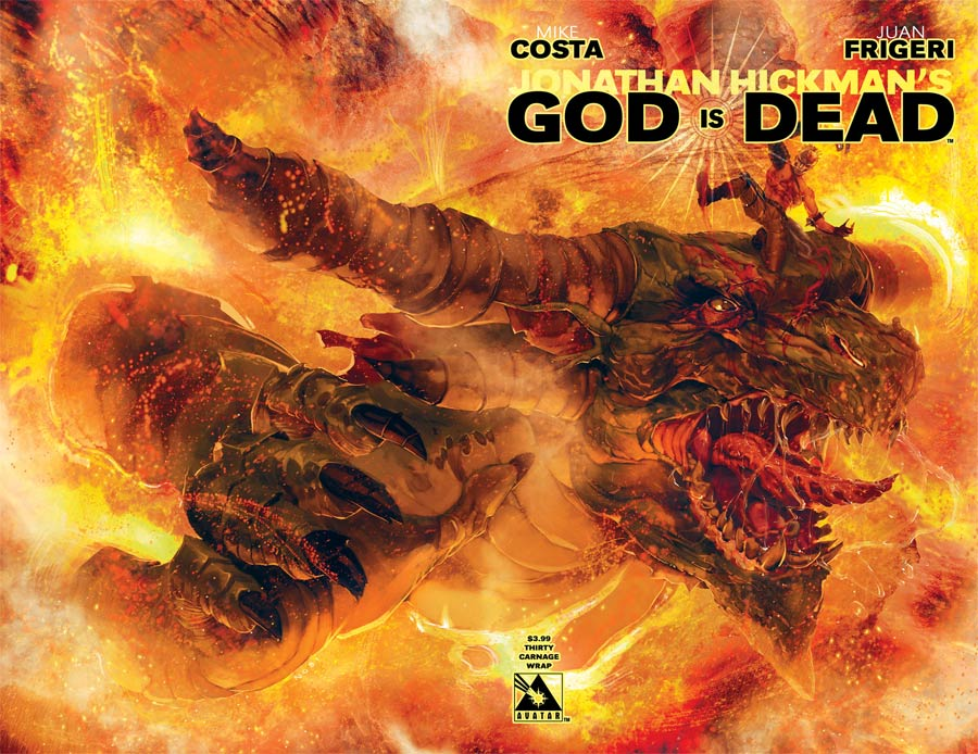 God Is Dead #30 Cover C Carnage Wraparound Cover