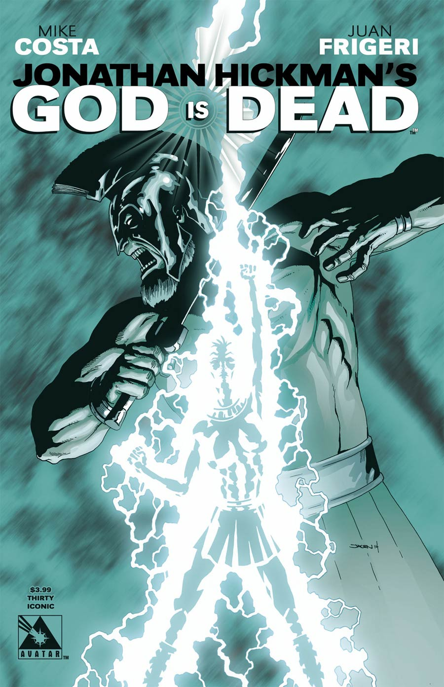 God Is Dead #30 Cover E Iconic Cover