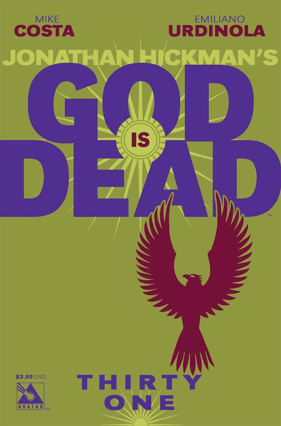 God Is Dead #31 Cover A Regular Cover