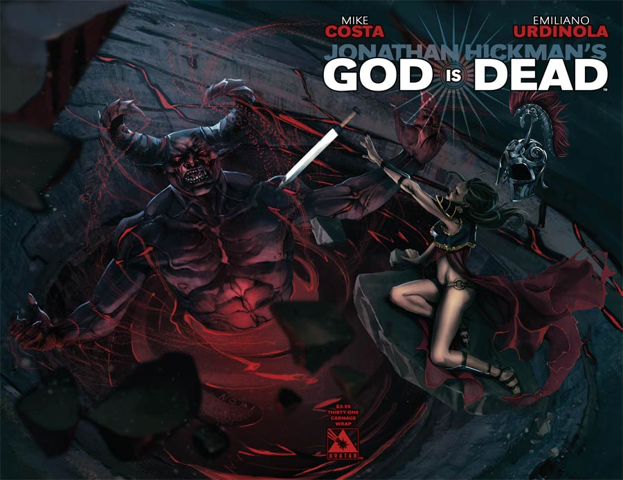 God Is Dead #31 Cover C Carnage Wraparound Cover