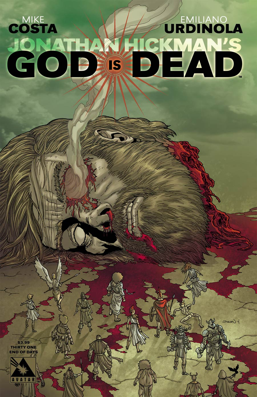 God Is Dead #31 Cover D End Of Days Cover
