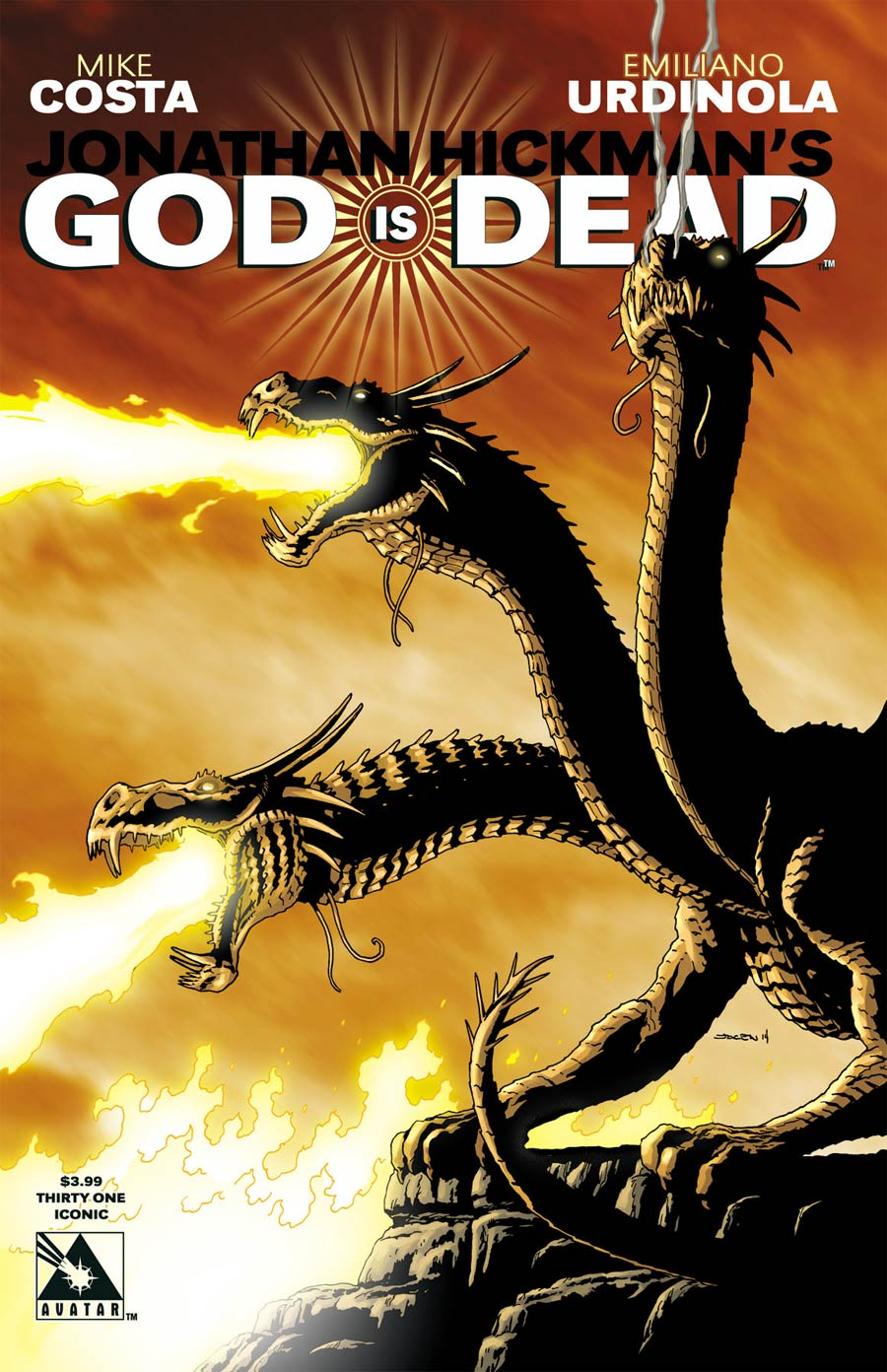 God Is Dead #31 Cover E Iconic Cover